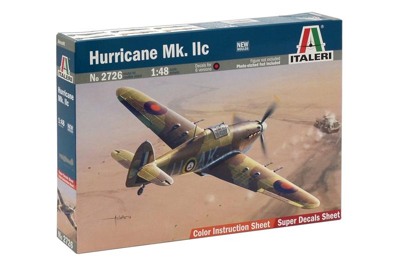 Сборная модель Самолет Harricane Mk