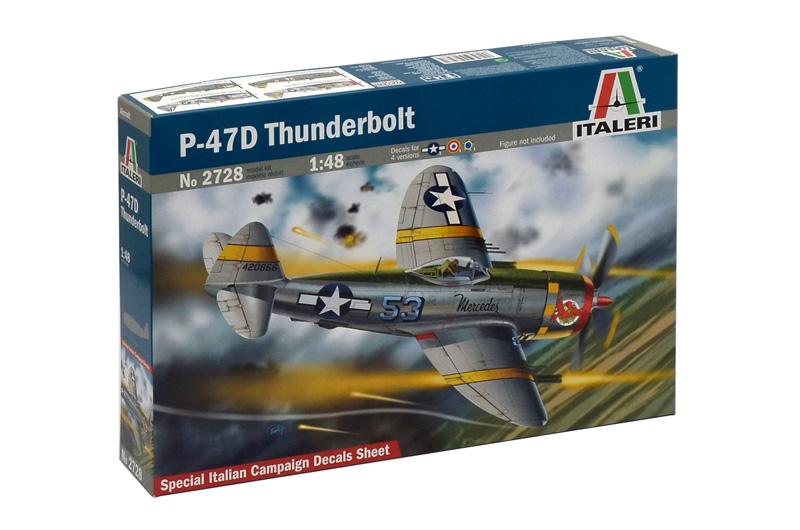Сборная модель Самолет P-47 D Thunderbolt