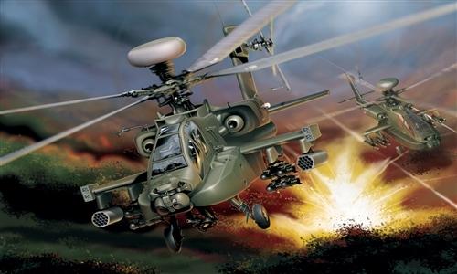 Модель Вертолет AH-64D Longbow Apache
