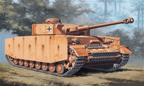 Модель Немеций танк Т-4