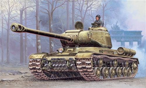 Сборная модель Советский танк ИС-2М