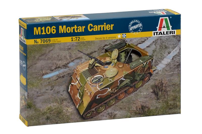 Сборная модель Пушечный тягач М-106