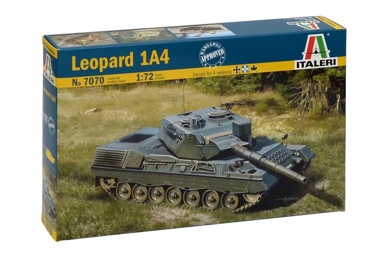 Сборная модель Танк Leopard 1 A4