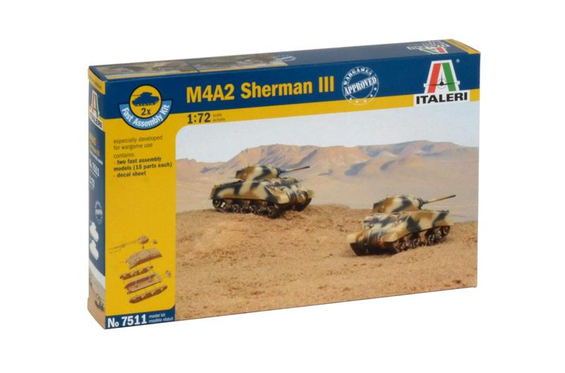 Сборная модель Танк Шерман III М4А2