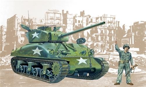 Сборная модель ТАНК M4A1 SHERMAN