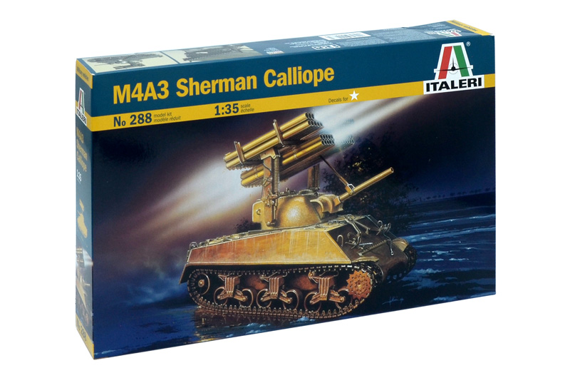 Модель ТАНК M4A3 SHERMAN CALLIOPE