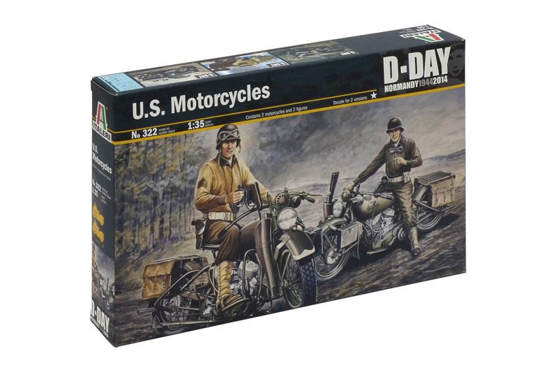 Сборная модель Американские мотоциклы WWII