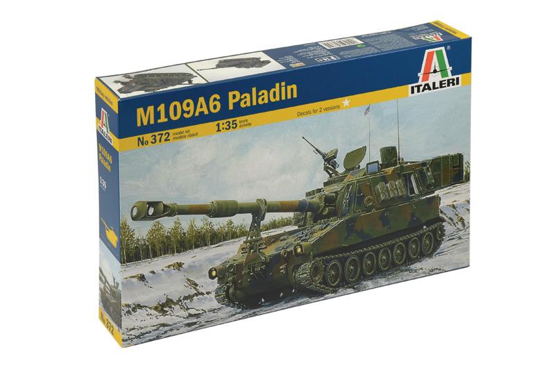 Сборная модель Американская САУ М109А6 PALADIN