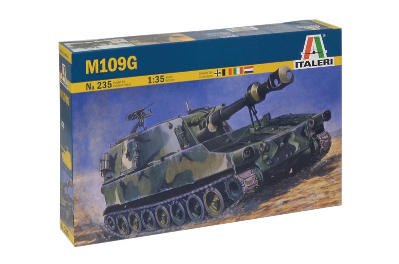 Сборная модель Самоходка М-109G