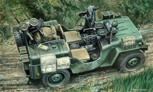 Сборная модель Автомобиль Commando Car