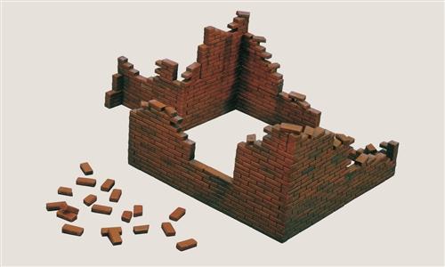 Сборная модель Аксессуары Brick Walls