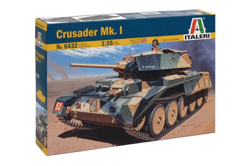 Сборная модель Британский танк CRUSADER