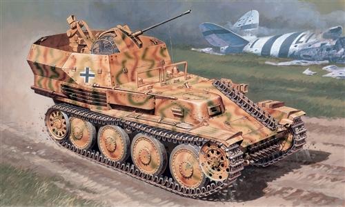 Сборная модель Танк Sd.Kfz. 140 Flakpanzer 38 Gepard
