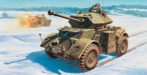 Сборная модель Бронемашина Staghound Mk.III
