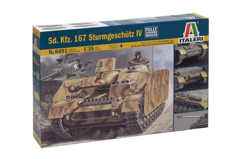 Сборная модель Самоходка SD.KFZ.167 STURMGESCHUTZ
