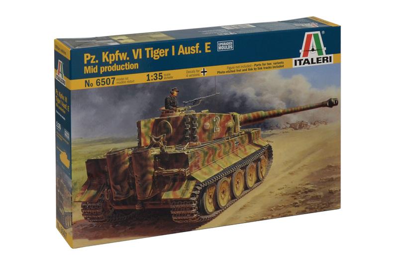 Сборная модель ТАНК PZ.KPFW. VI TIGER I Ausf.E