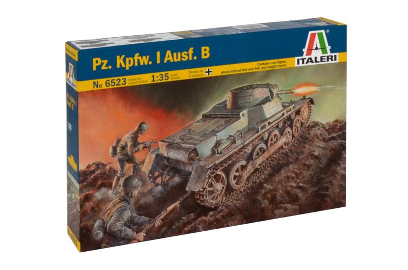 Сборная модель ТАНК Pz. Kpfw. I Ausf. B