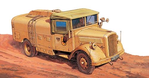 Сборная модель Танк-Грузовик KFZ.385