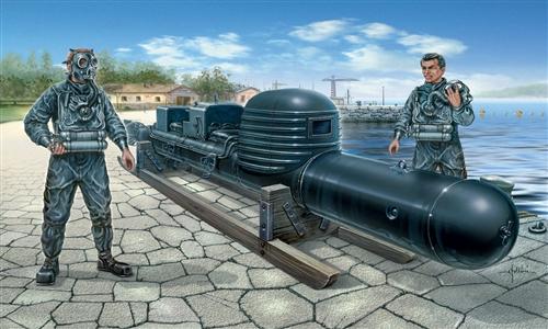 Сборная модель Торпеда с экипажем