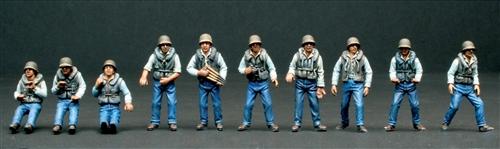 Сборная модель Экипаж торпеды