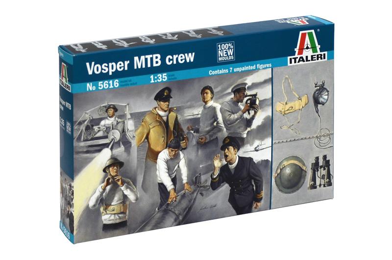 Сборная модель Экипаж Vosper