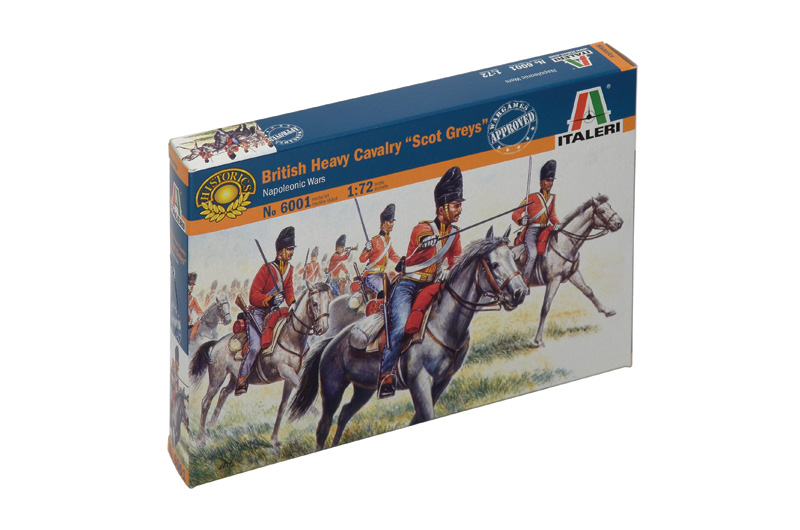 Сборная модель Британская тяжелая кавалерия