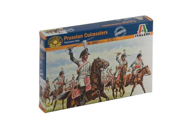 Сборная модель Солдатики Prussian Cuirassiers (Napoleonic Wars)