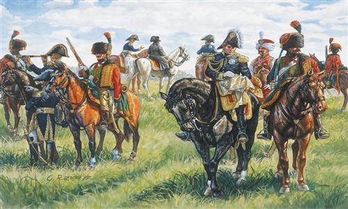 Сборная модель Французский штаб  (Napoleonic Wars)