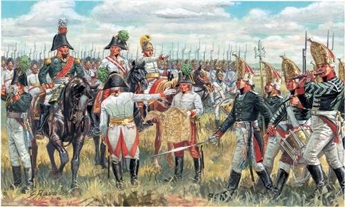 Сборная модель Солдатики Russian General Staff (Napoleonic Wars)