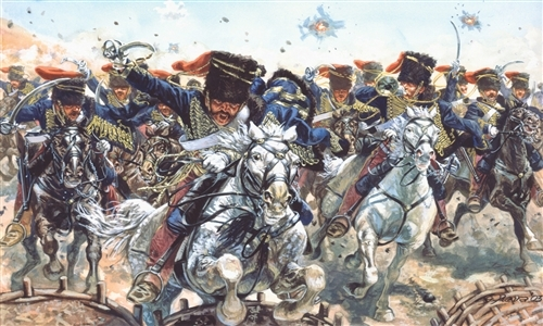 Сборная модель Солдатики Britich Hussars (Crimean War)