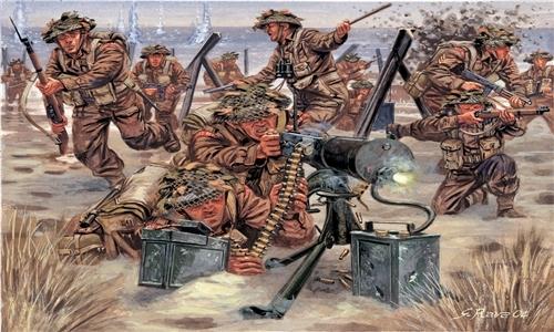 Сборная модель Солдатики British Infantry