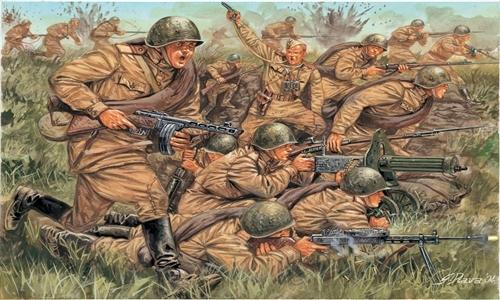 Сборная модель Британская и шотландская пехота
