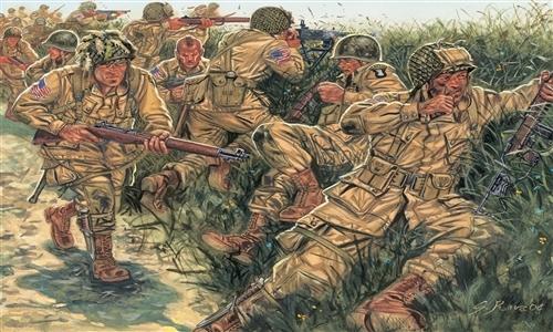 Сборная модель Солдатики U.S.Paratroopers