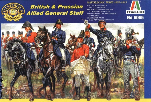 Модель Британский и Прусские штабы