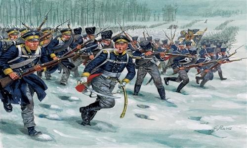 Модель Солдатики Prussian Infantry