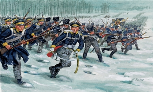 Сборная модель Солдатики Prussian Infantry