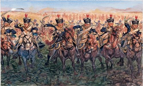 Сборная модель Британская легкая кавалерия