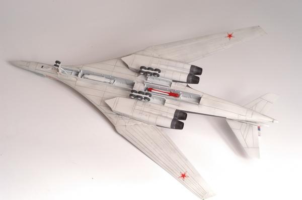 Бомбардировщик Ту-160.