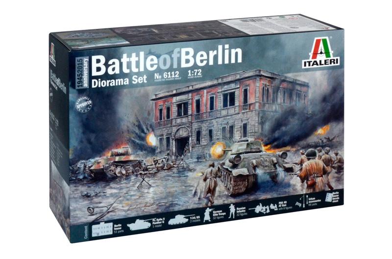 Сборная модель Набор для диорамы: 1945 БИТВА за БЕРЛИН