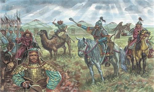 Сборная модель Монгольская кавалерия
