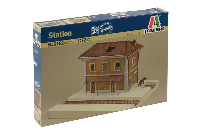 Сборная модель Строение  Ж/Д Станция