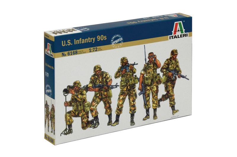 Сборная модель Американская пехота 90-х