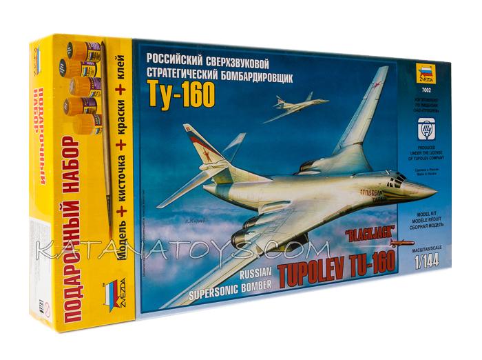 Сборная модель Бомбардировщик Ту-160