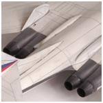 Модель - Бомбардировщик Ту-160.