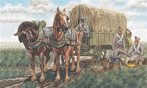 Сборная модель Напол.войны-Французская повозка