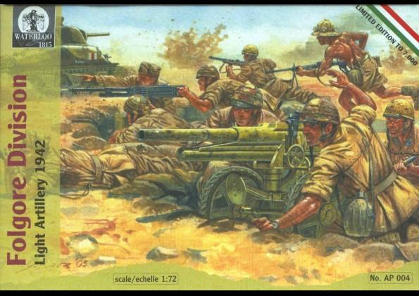 Сборная модель Легкая артиллерия