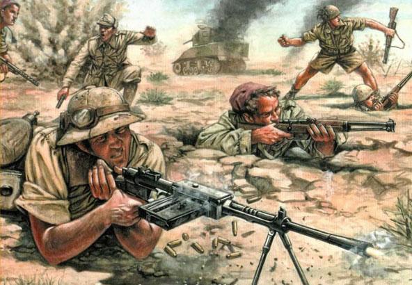 Сборная модель Италянская кавалерия