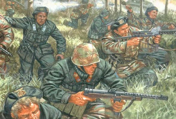 Сборная модель Армия Итальянской Социальной Республики 1943/45