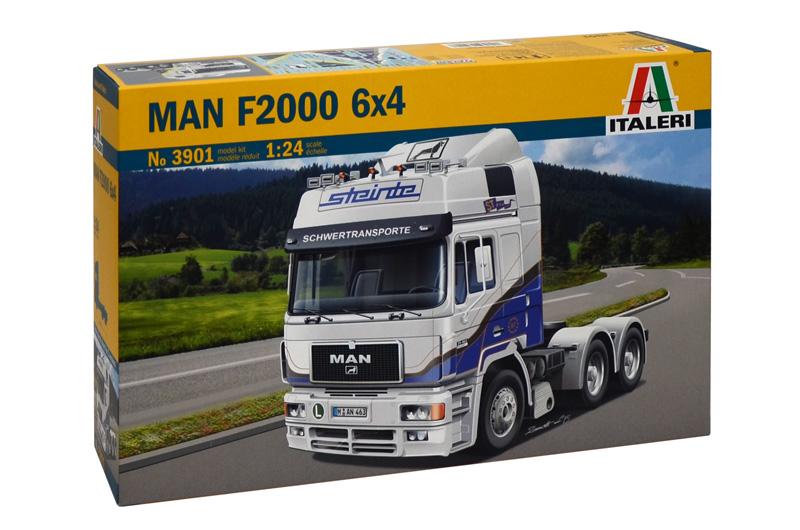 Сборная модель ГРУЗОВИК MAN F2000 6x4