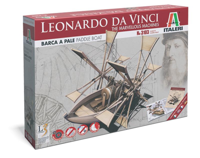 Сборная модель Самоходная лодка Леонарда